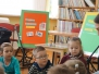 2015-04-16 Światowy dzień Książki Przedszkolaki Gr. Biedronki
